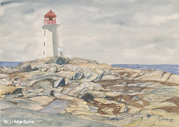 Peggy's Cove by Linda Cote