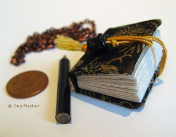 Handmade mini artist book by Dea Fischer.