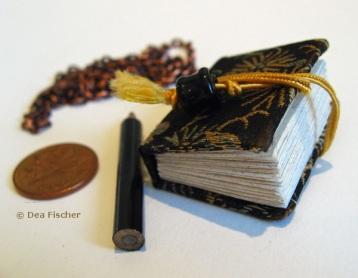 Handmade mini artist book by Dea Fischer.
