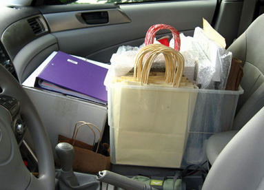 Linda Cote-Packed Car 2