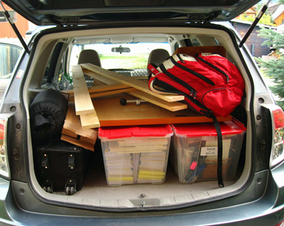 Linda Cote-Packed Car1