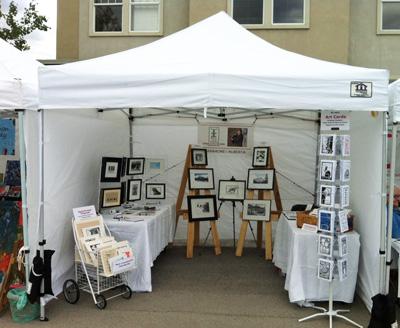 Linda Cote Studio-artFair 2012