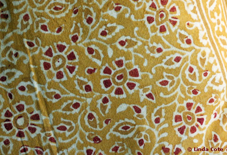 Linda Cote-Maiwa Pillowcase-detail