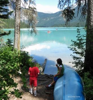 Linda Cote-Emerald Lake Canoe