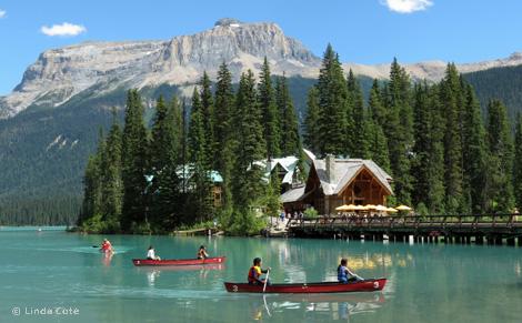 Linda Cote-Emerald Lake Canoe2