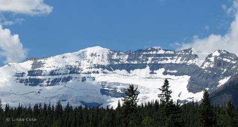Linda Cote-Lake Louise Glacier
