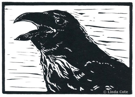 LINDA COTE Laughing Raven