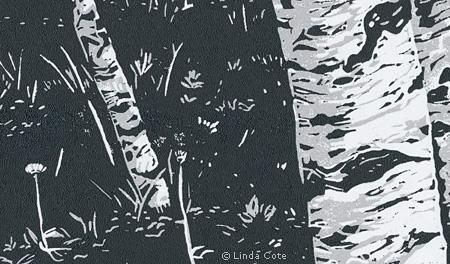 LINDA COTE-Aspen Grove-detail