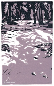 "LINDA COTE ""Forest Shadows"" Limited Edition Print"