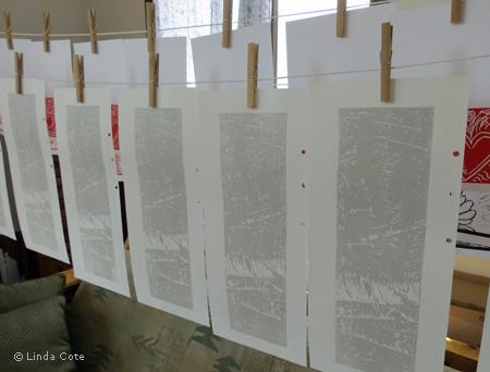 LINDA COTE-Grey Hanging