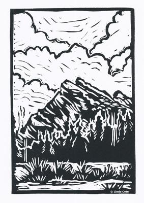 LINDA COTE-Mount Rundle