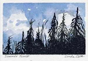LINDA COTE-Summer-Forest