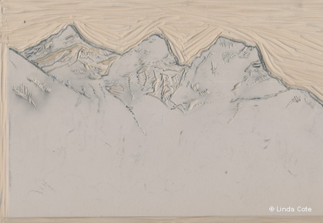 10-LINDA COTE-Mountains Carved
