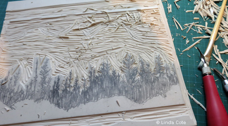 16-LINDA COTE-Carving trees