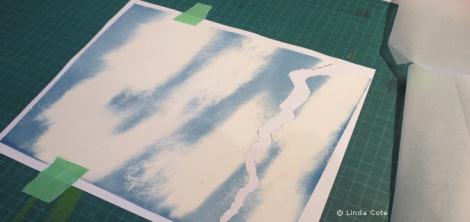 LINDA COTE-Cutting Sunprint skt