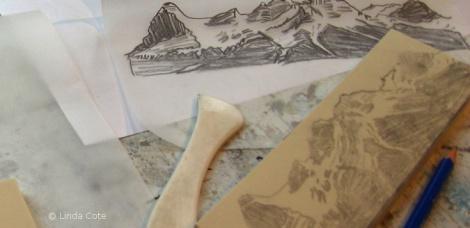 LINDA COTE-Drawing block