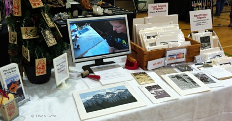 LINDA COTE-2012 Booth w Video