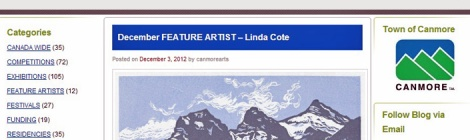 Town of Canmore-Feature LINDA COTE