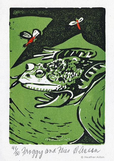 LINDA COTE-Heather Aston Frog