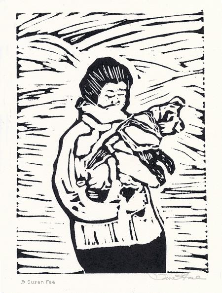 LINDA COTE-Susan Fae Print