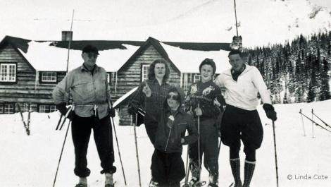 LINDA COTE-Vintage Sunshine Village