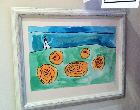 LINDA COTE-Son's PEI painting
