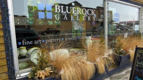 LINDA COTE-Bluerock Gallery Front Window