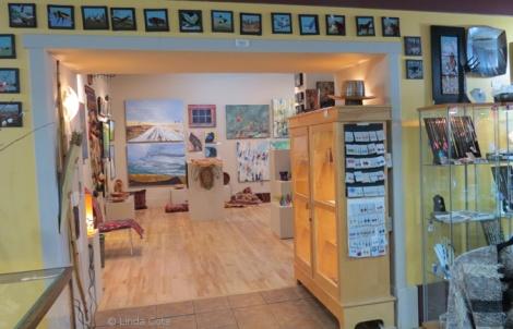 LINDA COTE-Bluerock Gallery interior