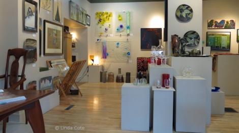 LINDA COTE-Bluerock Gallery interior5