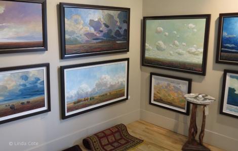 LINDA COTE-Bluerock Gallery interior6