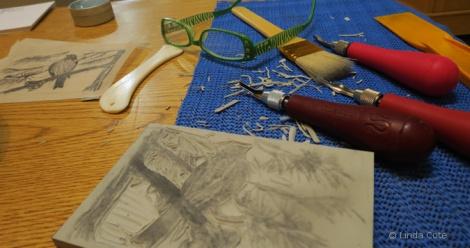 LINDA COTE-Carving