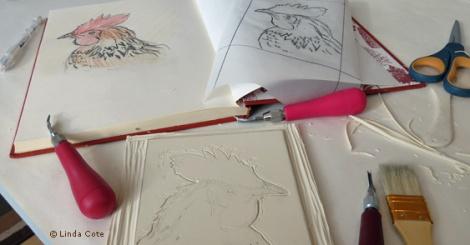 LINDA COTE-Drawings