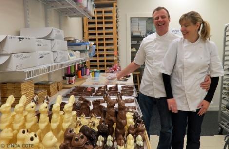 LINDA COTE-Le Chocolatier John & ;Belinda2