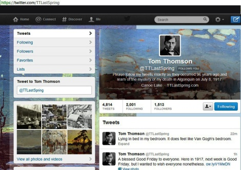 LINDA COTE-Tom Thomson on Twitter