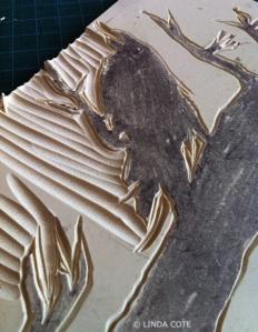 LINDA COTE-Carve raven