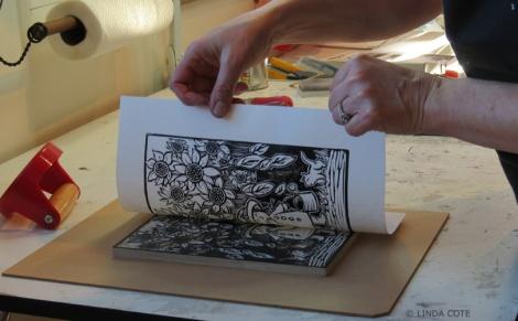LINDA COTE-Garden GrowFirst Print