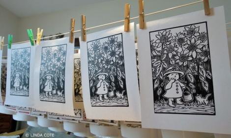 LINDA COTE-Garden Print