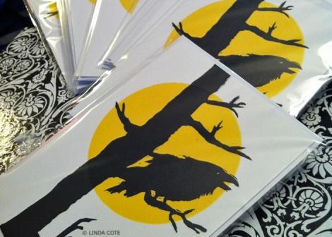 LINDA COTE-Sunny RavenCard pkg