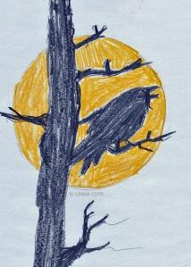 LINDA COTE-Sunny RavenSketch