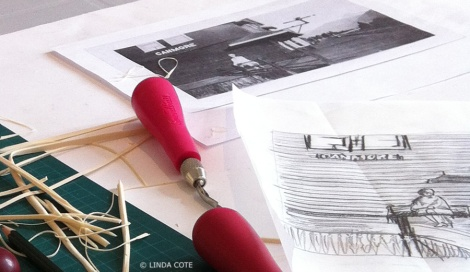 LINDA COTE-beginning stages