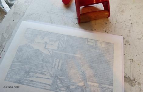 LINDA COTE-pressing paper