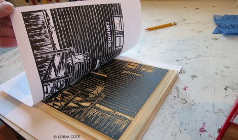 LINDA COTE-pulling print