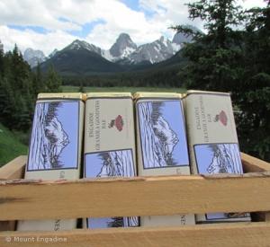LINDA COTE-Engadine Chocolate Bars