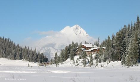 LINDA COTE-Engadine Winter
