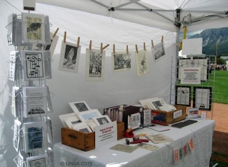 LINDA COTE-Folk Fest TentInside