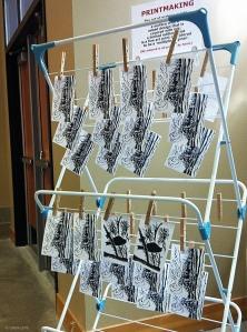 LINDA COTE-Printmaking Demo CMAGS3