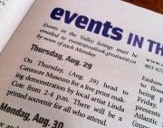 LINDA COTE-Printmaking Demo newspaper