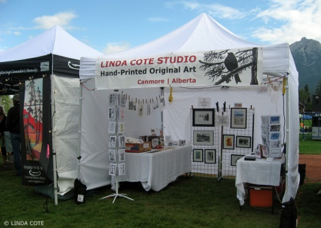 LINDA COTE-Tent closed back