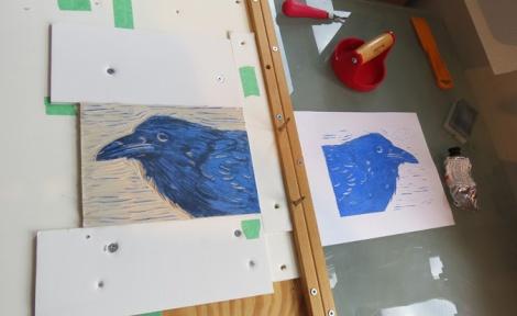 LINDA COTE-Pull Blue Print2