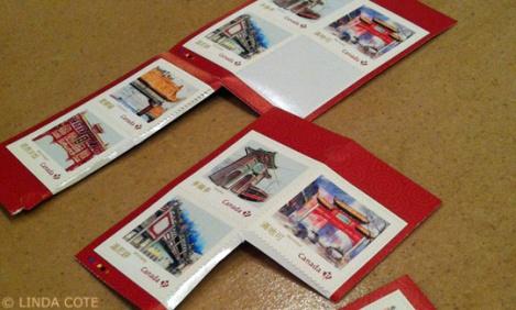 LINDA COTE-Stamps